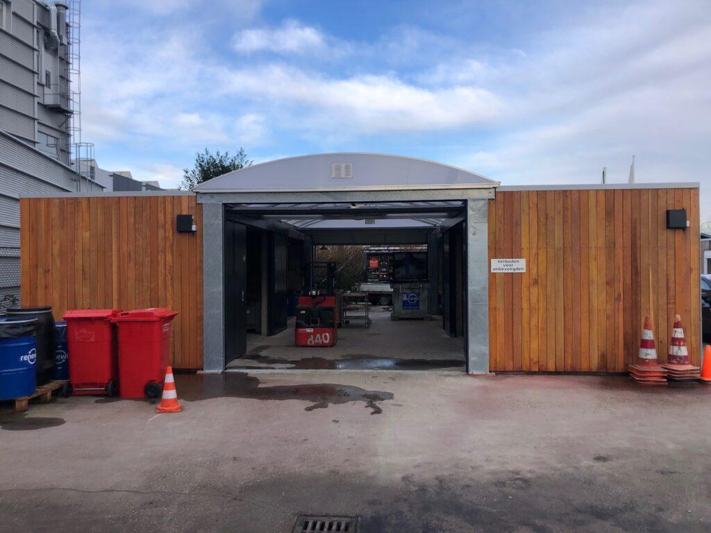 Depot voor klein chemisch afval KCA GAD Huizen Modulo Milieustraten circulair bouwen
