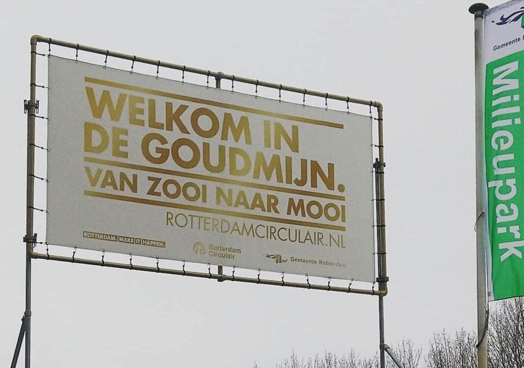 Circulaire steden Rotterdam 'Van zooi naar mooi' milieupark Care4Circulair milieustraat van de toekomst Modulo Milieustraten