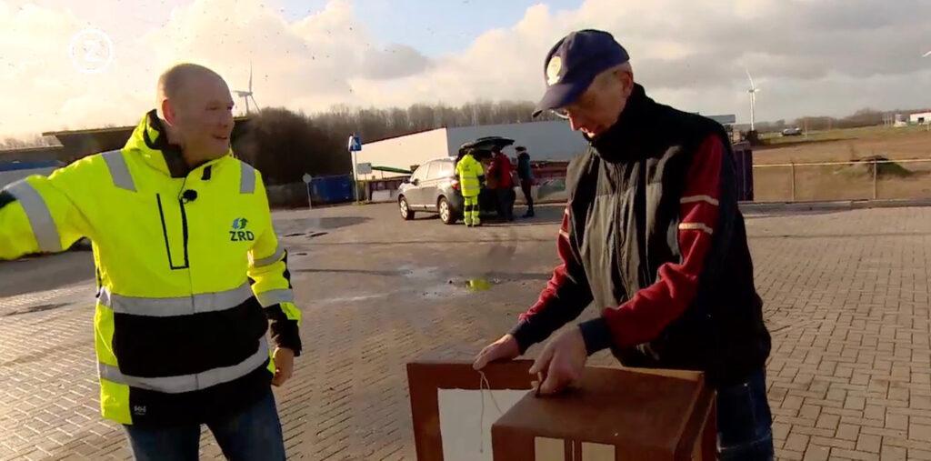 Zeeuwse reinigingsdienst ZRD grof huishoudelijk afval Modulo Milieustraten circualir bouwen