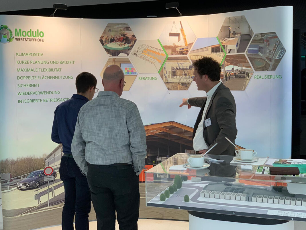 Abfallwirtschaftstage (AWT) Münster Duitsland Noordrijn-Westfalen Modulo Milieustraten Care4Circulair