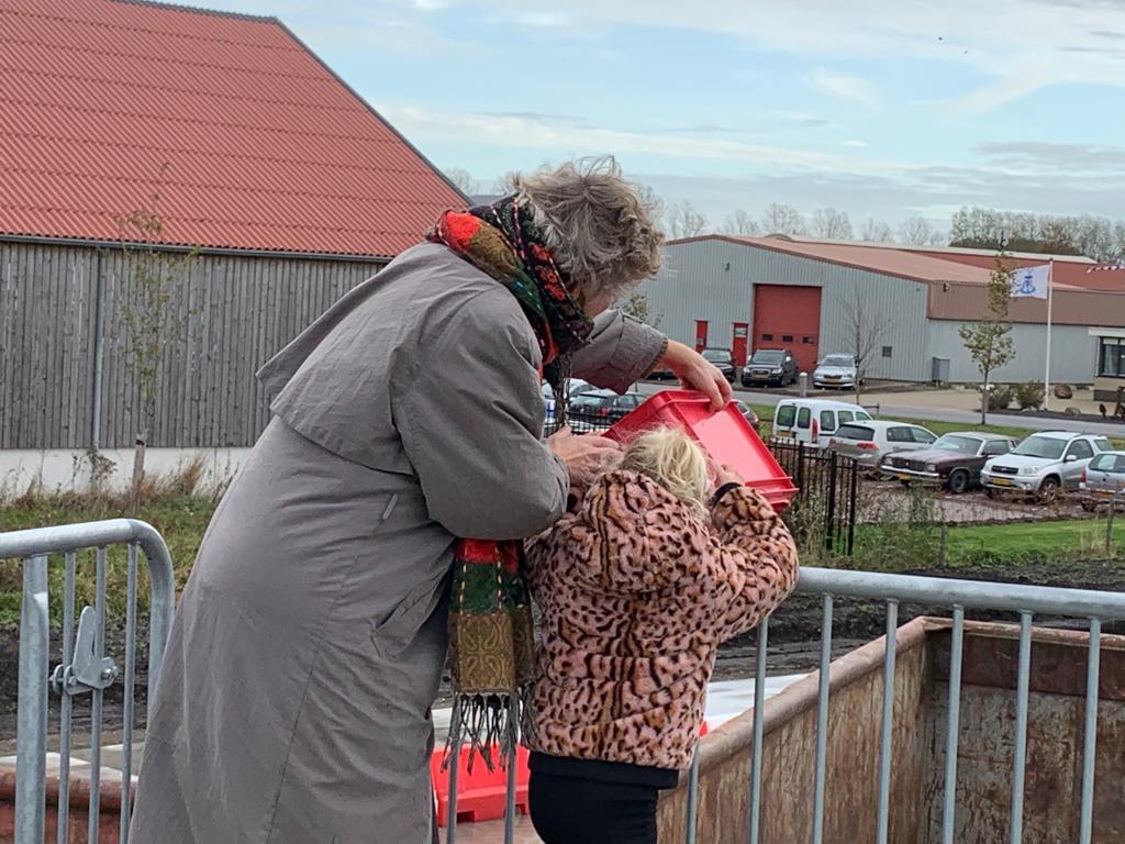 Opening milieustraat Lemmer Fryske Marren wethouder Irona Groeneveld Semke Modulo Milieustraten Care4Circulair