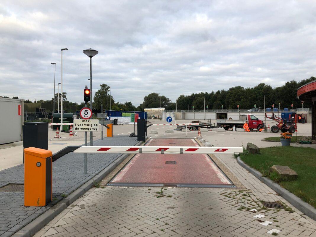 Milieustraat gemeentewerf Leusden circulair bouwen Modulo Milieustraten CAre4Circulair