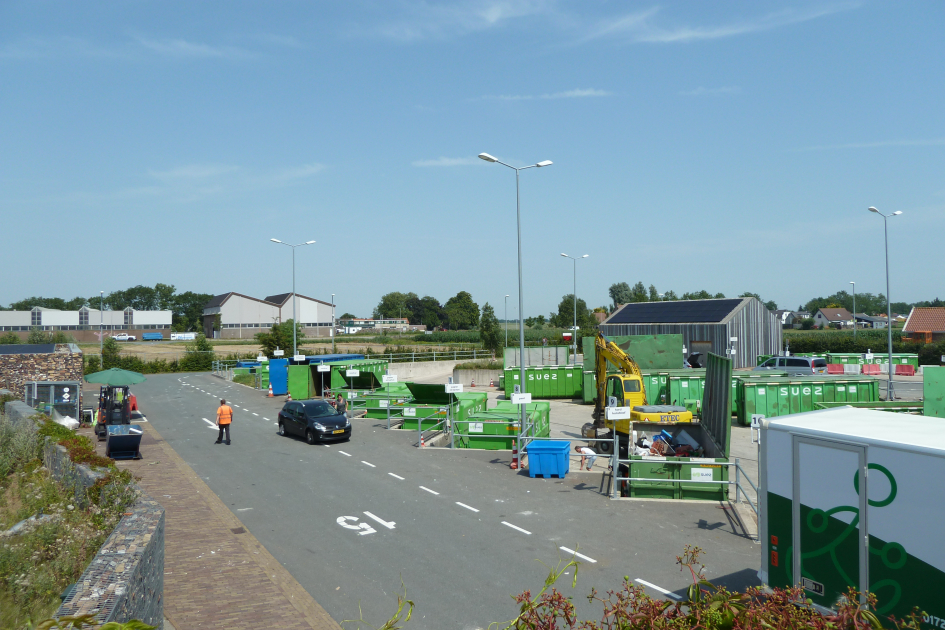 Ecopark gemeente Alphen aan den Rijn Open Coffee reserveringssysteem milieustraat Modulo Milieustraten Care4Circulair